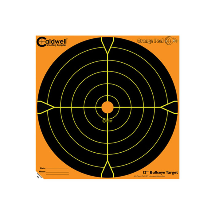 Caldwell Orange Peel Bullseye Target 12