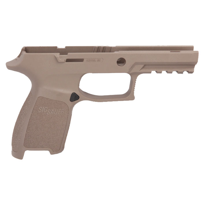 Sig Sauer P250/320 Grip Module Assembly, 9/40/357 Compact Small - Small Grip - FDE