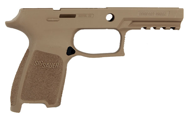 Sig Sauer P250/320 Grip Module Assembly, .45ACP Compact Frame - Small Grip - FDE