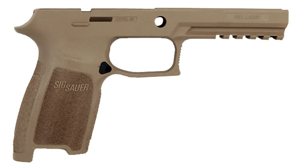 Sig Sauer P250/320 Grip Module Assembly, .45ACP Full Size Large - Large Grip - FDE