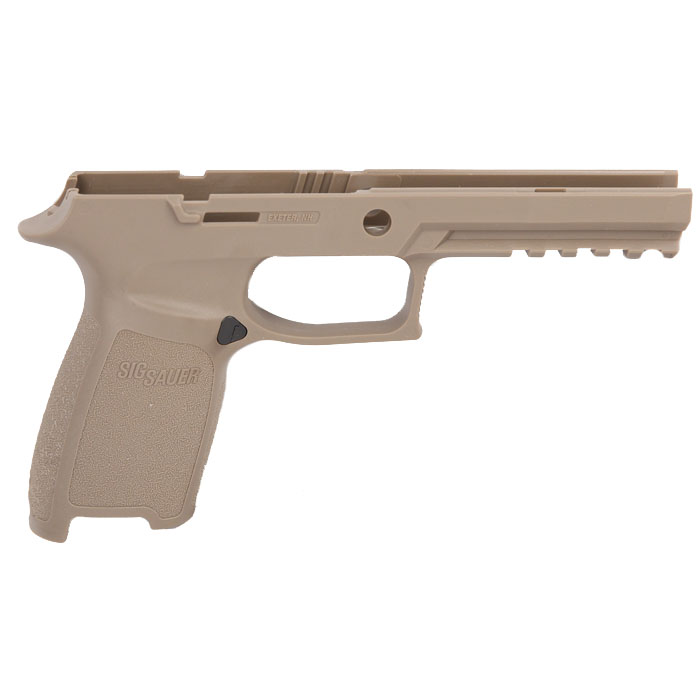 Sig Sauer P250/320 Grip Module Assembly, 9/40/357 Full Size Medium - Medium Grip - FDE