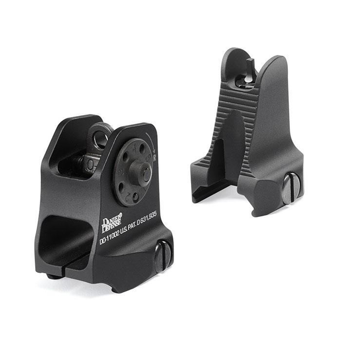Daniel Defense Fixed Front/Rear AR-15 Sight Combo