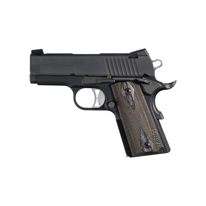 Sig Sauer 1911 Ultra Compact, Nitron, .45ACP, Night Sights - IOP
