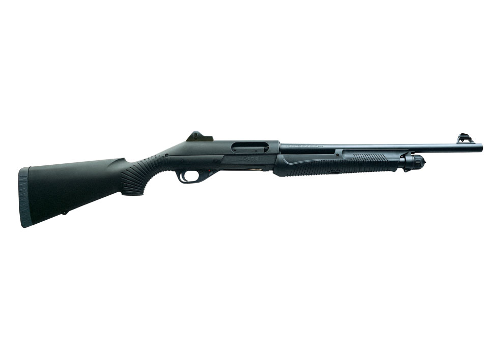 "Benelli Nova Tactical Shotgun, 18.5"" Barrel, 12 Gauge"