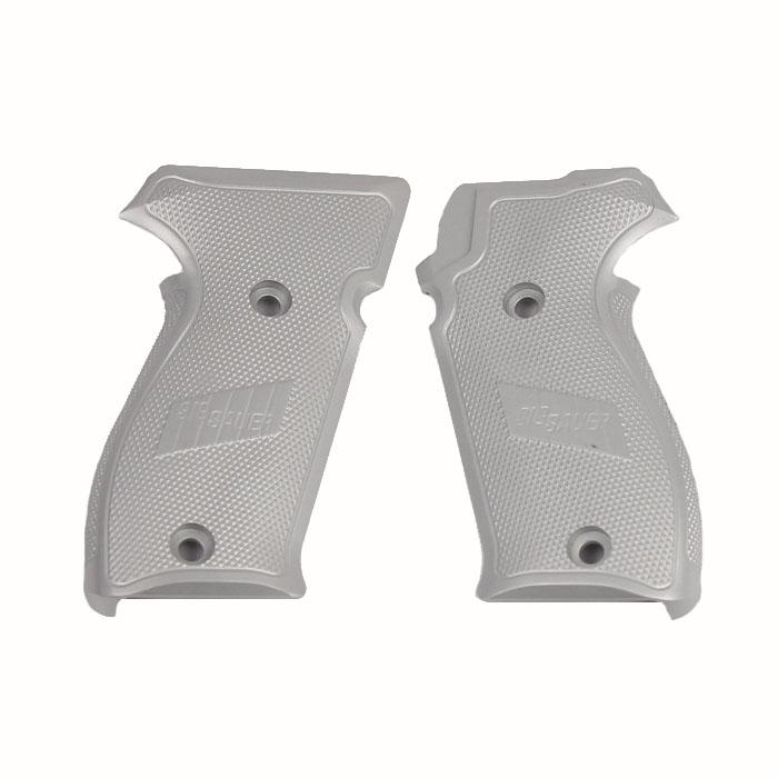 Sig Sauer P220 Grips, Aluminum -CLEAR