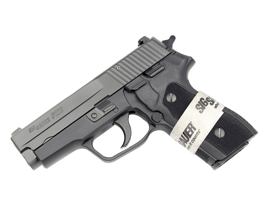 Sig Sauer P225A 9mm, SigLite Night Sights, DA/SA