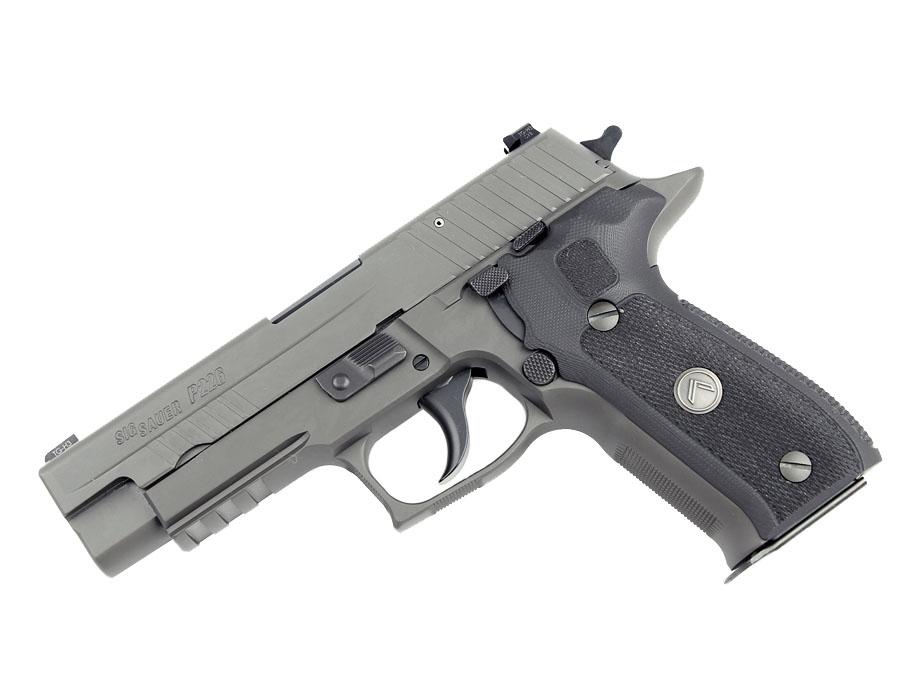 Sig Sauer P226 Legion, 9mm, Night Sights, DA/SA