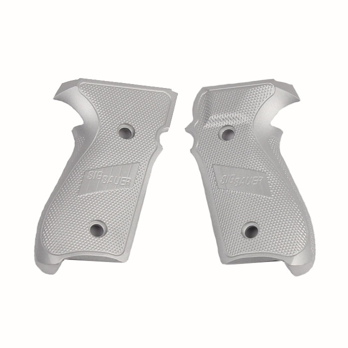 Sig Sauer P229 Grips, Aluminum - CLEAR