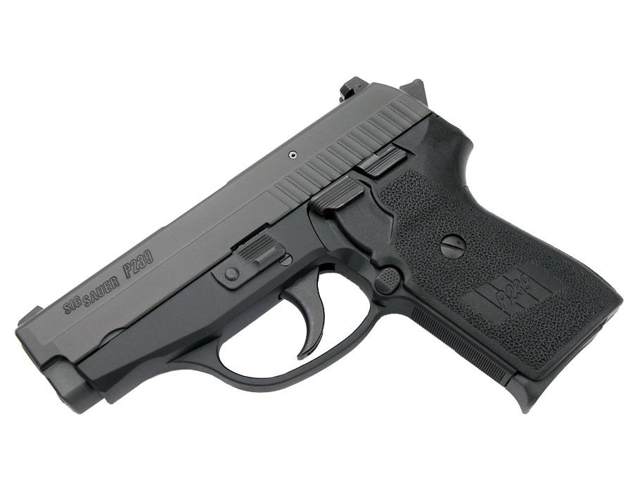 Sig Sauer P239 9mm, Nitron, SigLite Night Sights, DA/SA