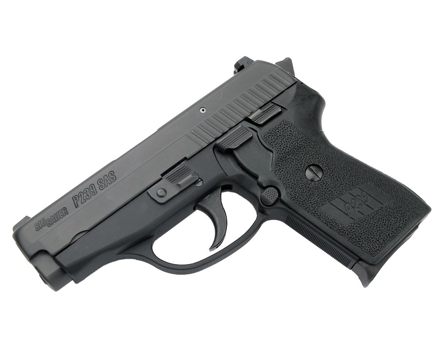 Sig Sauer P239 SAS Gen. 2, 9mm, Nitron, SigLite Night Sights, DA/SA, SRT