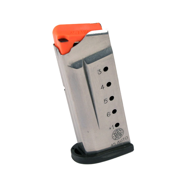 Smith & Wesson M&P Shield .45ACP 6RD Magazine