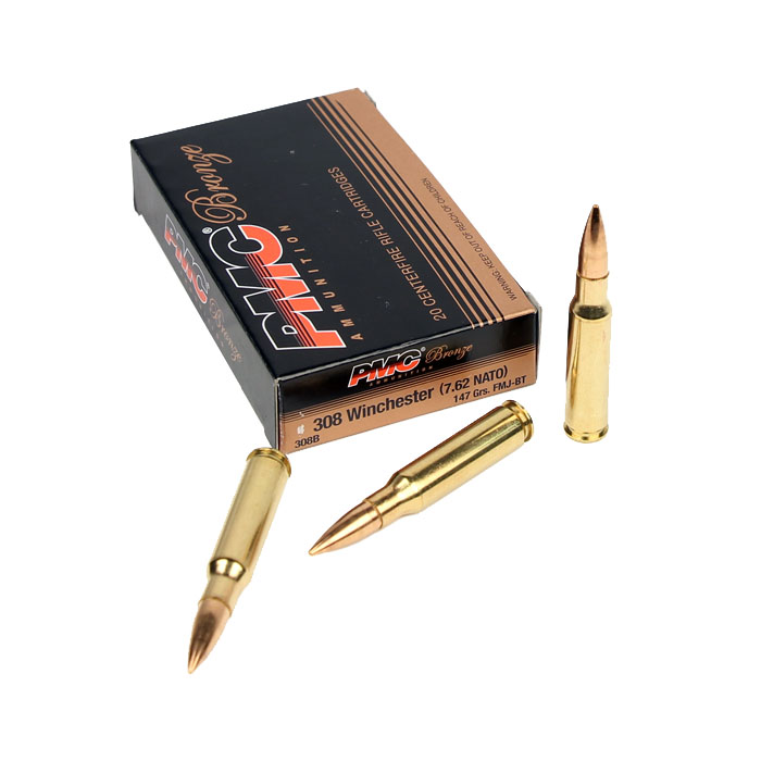 PMC .308 Winchester 147 GR. FMJ - 20RD