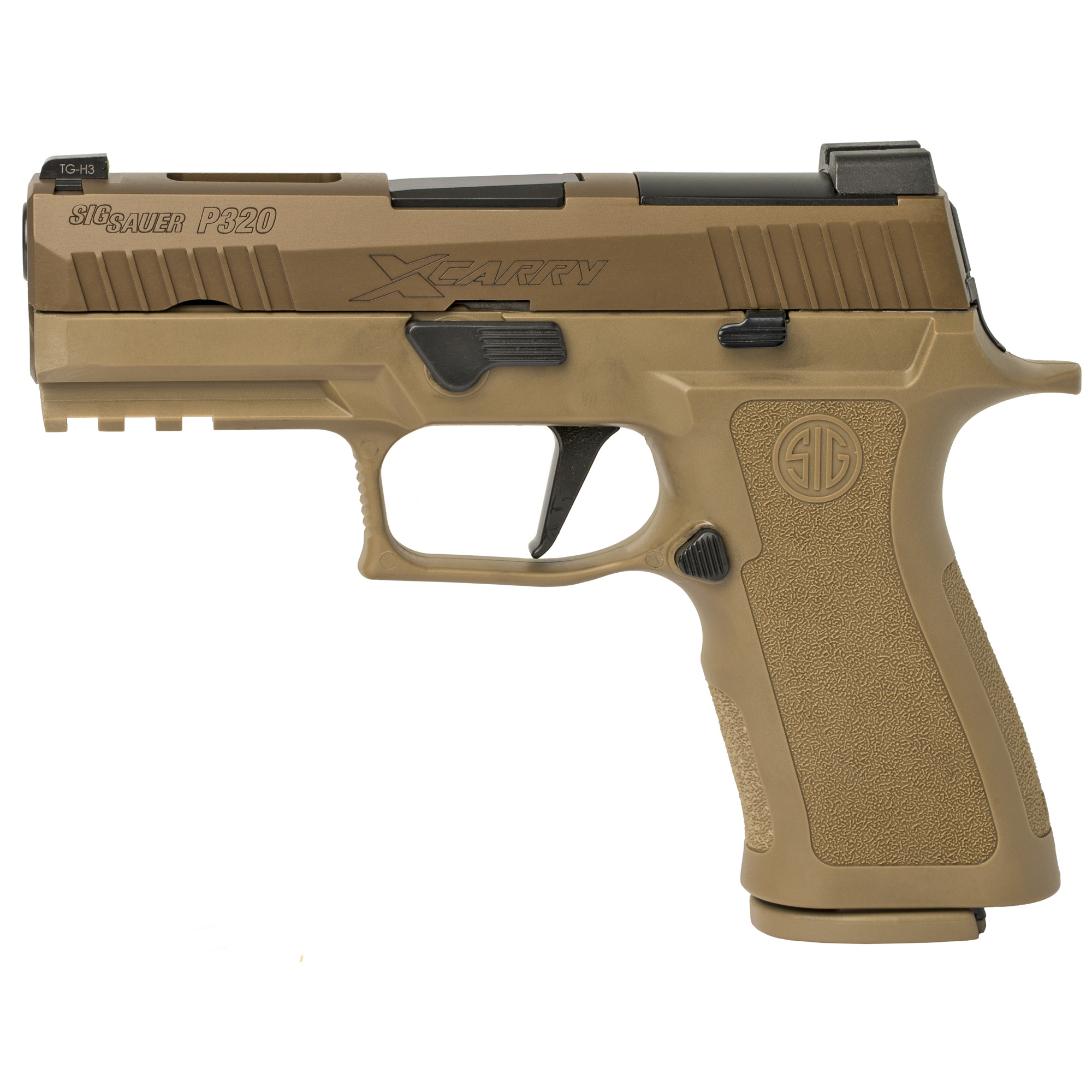 Sig Sauer P320 X-Carry, X-Ray Sights, Coyote - 9mm
