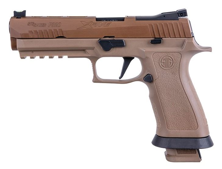 Sig Sauer P320 X-Five Full Size, 9mm - Coyote