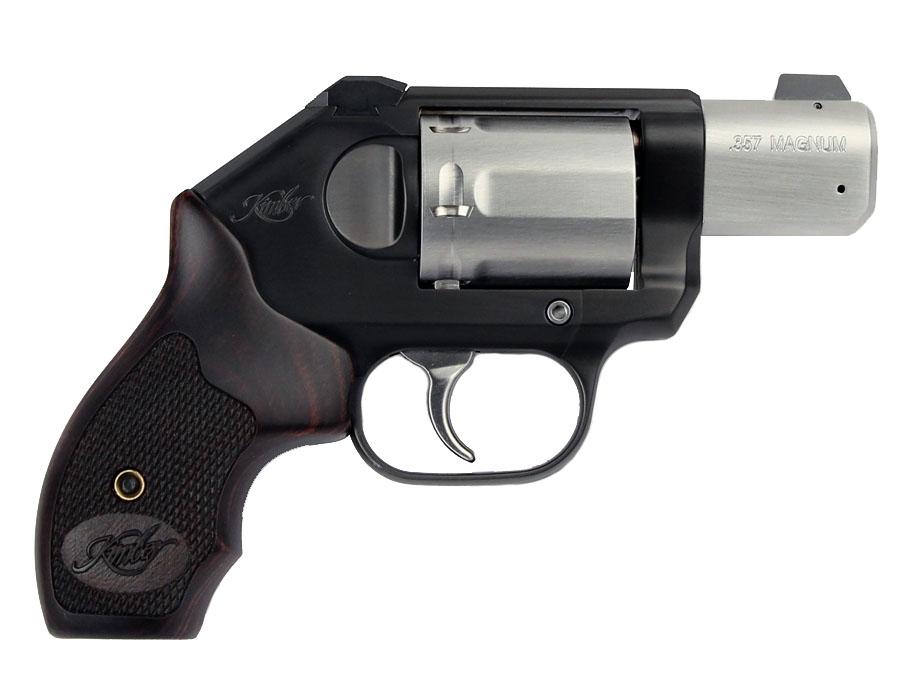Kimber K6S CDP Revolver  357 Magnum - Rosewood Grips
