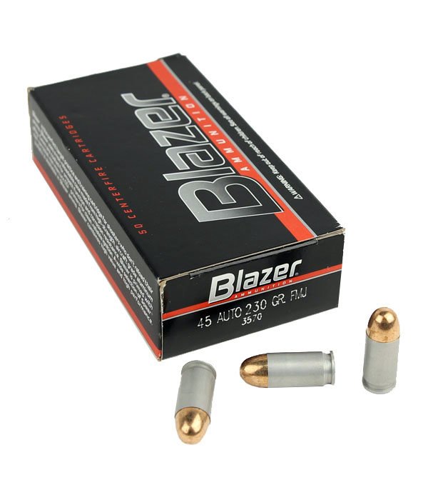 CCI Blazer .45ACP 230 GR. FMJ - Aluminum - 50RD