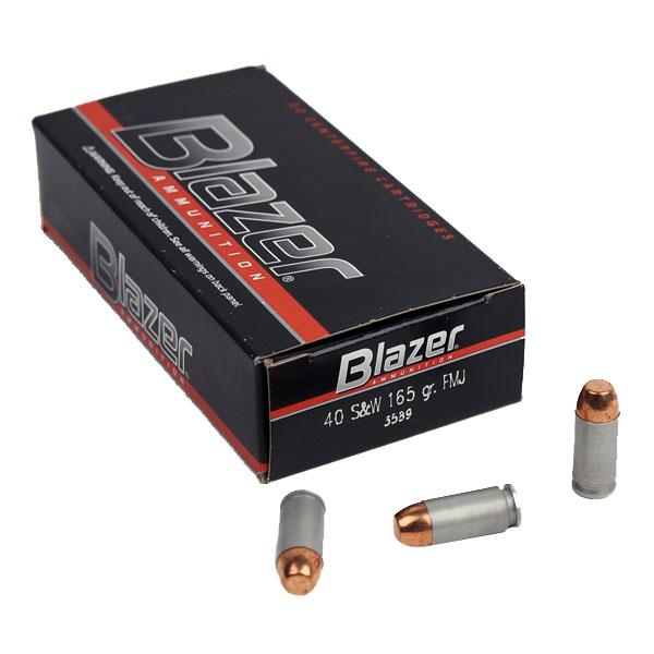 CCI Blazer .40S&W 165 GR. FMJ - Aluminum - 50RD