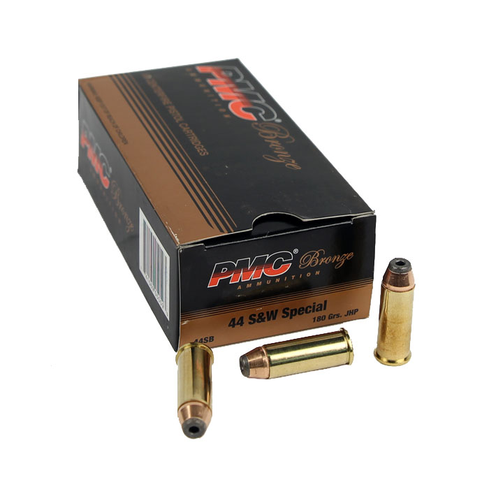 PMC Bronze 44 Special 180GR JHP - 50RD