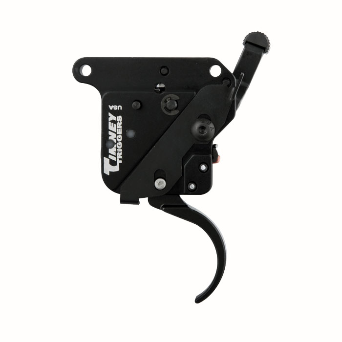 Timney Triggers Curved Remington 700 Trigger W/Safety - Right Hand - 3LB