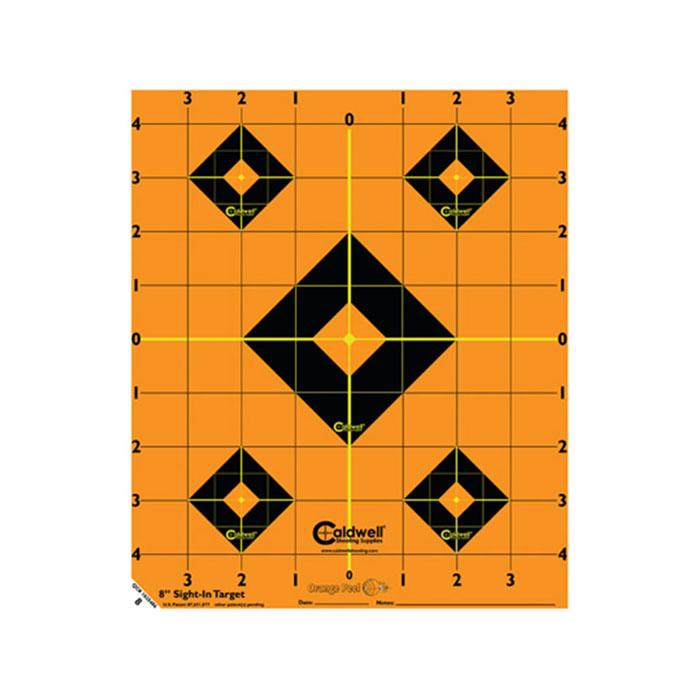 Caldwell Orange Peel Sight-In Target 8