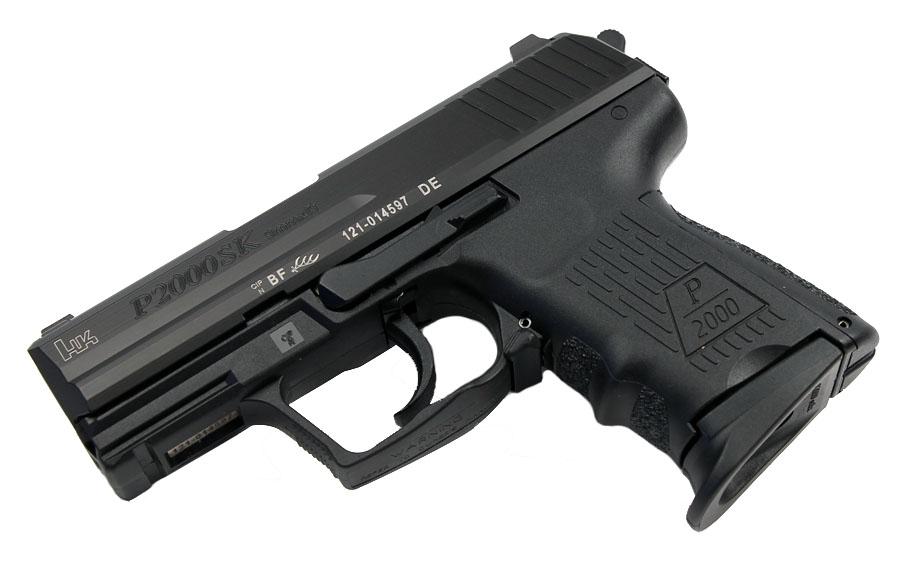 H&K P2000SK 9mm, DA/SA, Fixed Sights