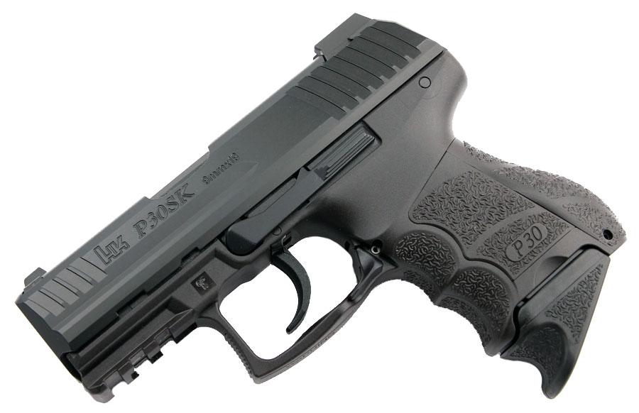 H&K P30SK 9mm, Light LEM, Night Sights, V1, 3 Mags