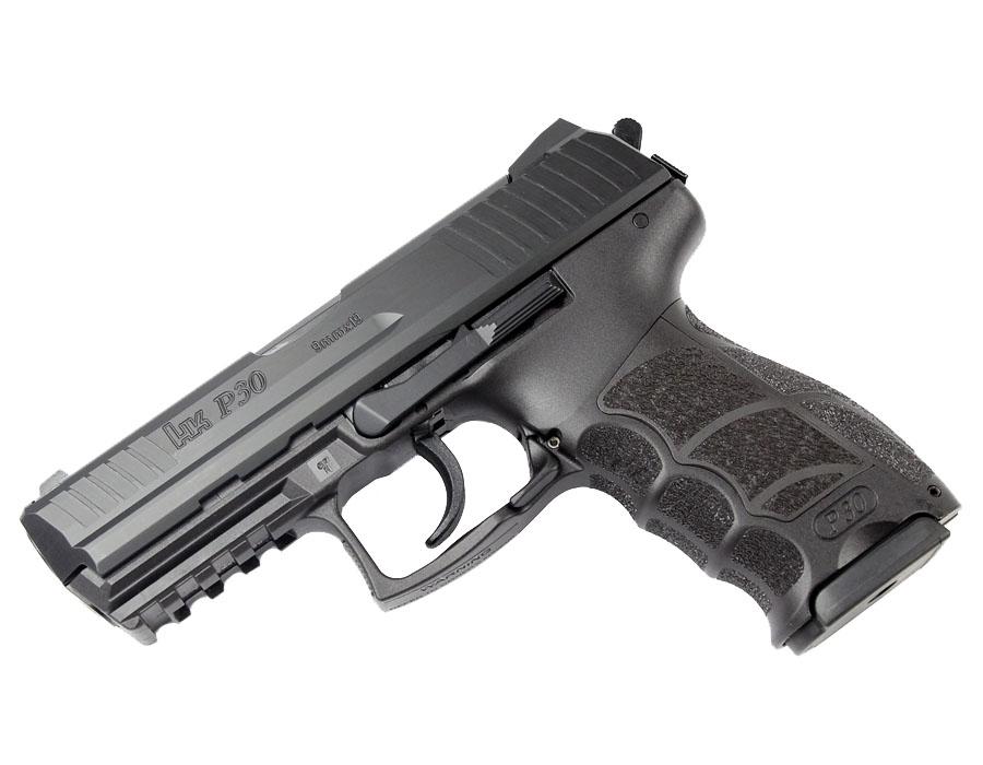 H&K P30 9mm, DA/SA, fixed sights, V3
