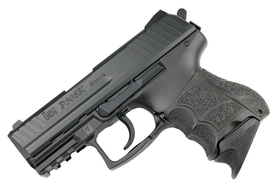 H&K P30SK 9mm, DA/SA, fixed sights, V3