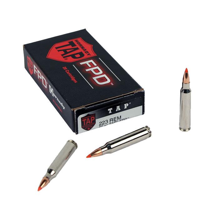 Hornady 223 REM 55GR TAP FPD - 20RD