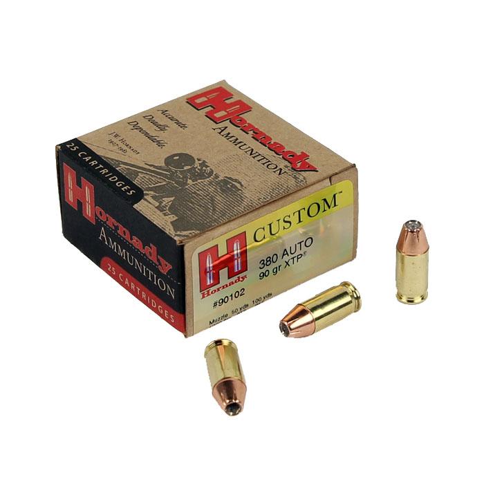 Hornady Custom .380 90 GR. XTP HP - 25RD