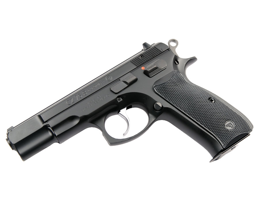 CZ-75B, Fixed Sights, 9mm