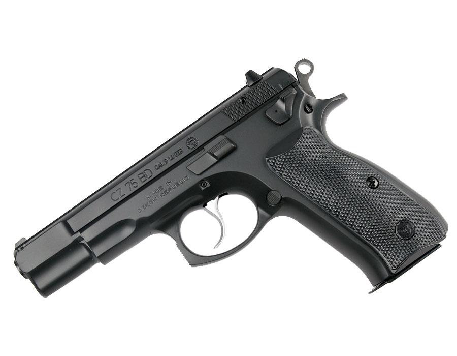 CZ-75BD, Fixed Sights, 9mm