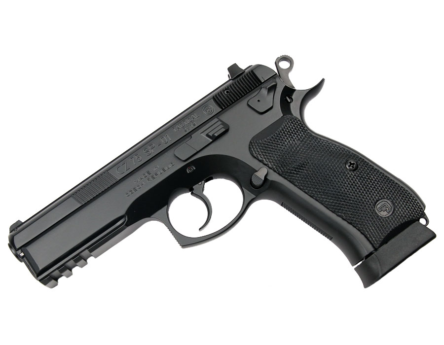CZ 75 SP-01 Tactical, Night Sights, 9mm