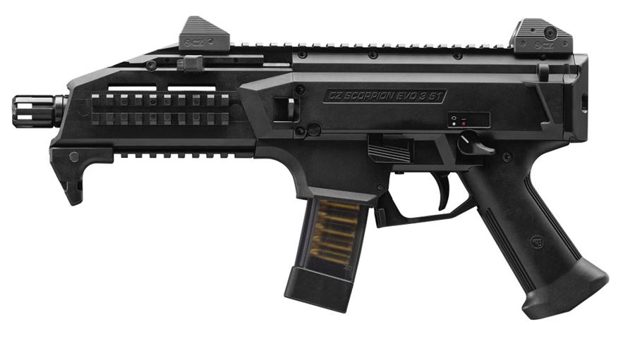 CZ Scorpion EVO 9mm Pistol