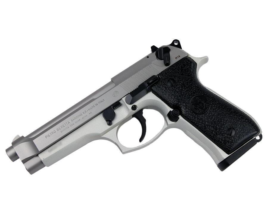 Beretta 92FS Inox, Fixed Sights, 9mm