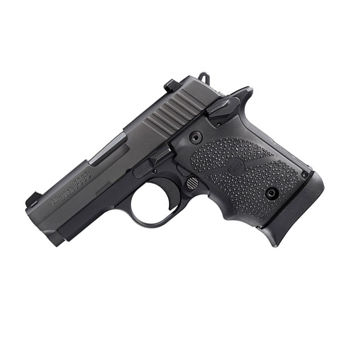 Sig Sauer P938 9mm, Night Sights, Black Rubber Grips