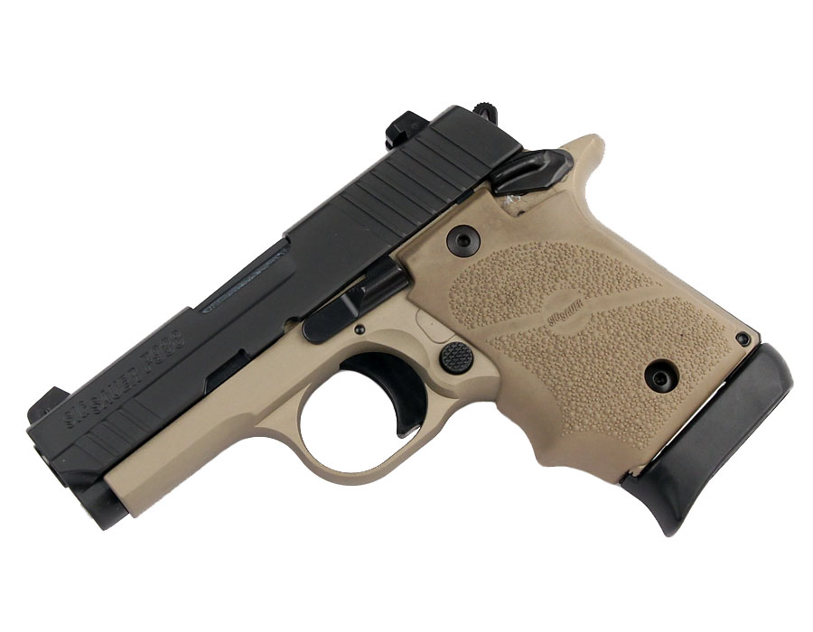 Sig Sauer P938 9mm, Night Sights, Combat