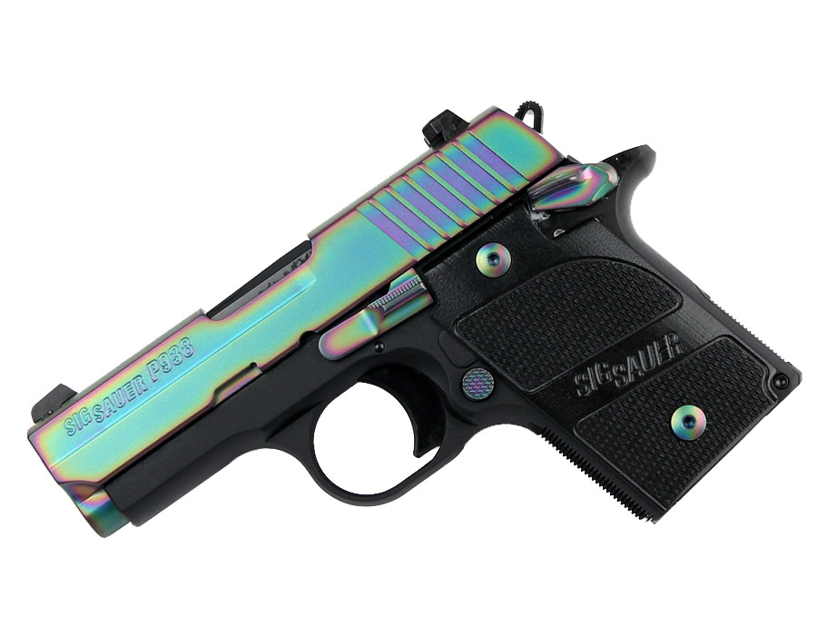 Sig Sauer P938 9mm, Night Sights, Edge