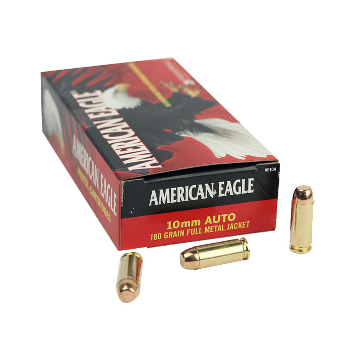 American Eagle 10mm Auto 180 GR. FMJ - 50RD