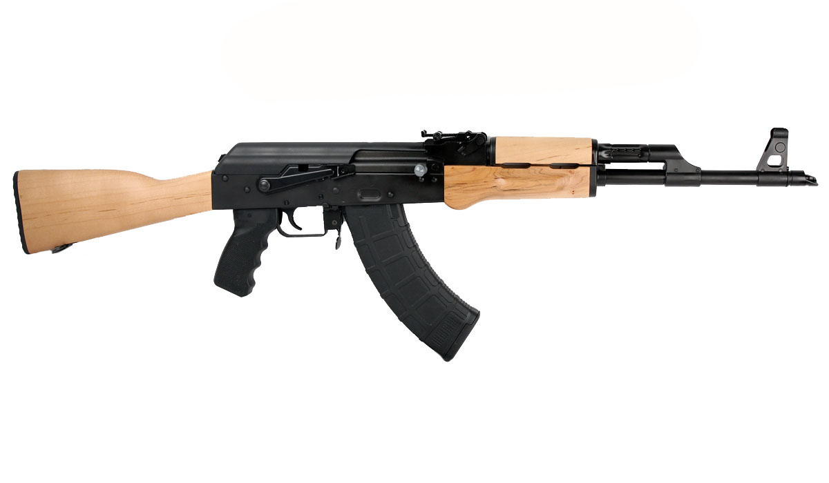 AK47 Red Army 7.62x39 Rifle, Stamped Receiver