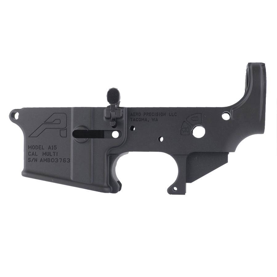 Aero Precision AR15 Stripped Ambidextrous Lower Receiver - BLK
