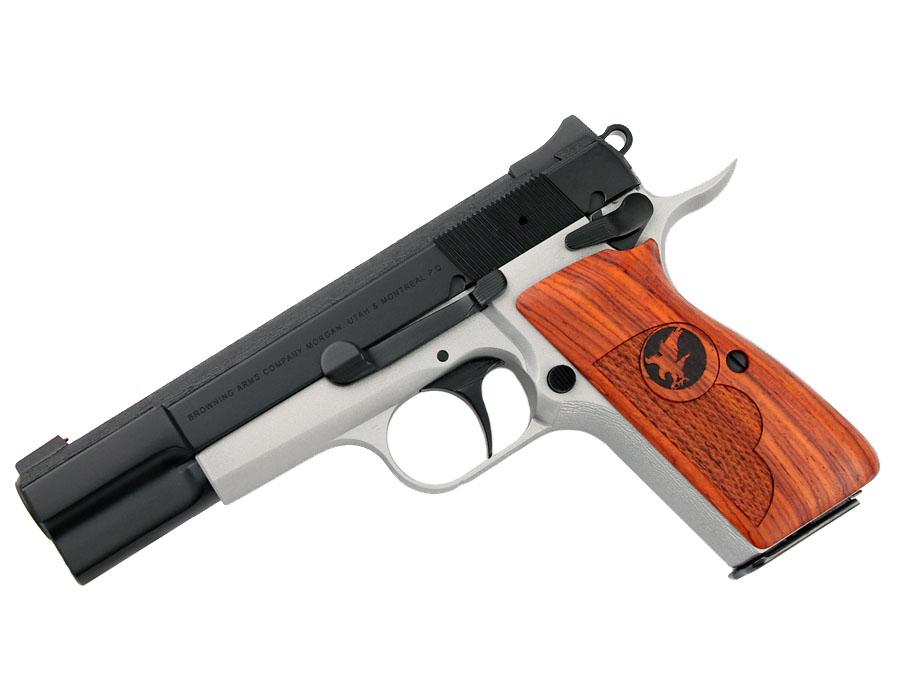 Nighthawk Browning Hi-Power 9mm - Two-Tone