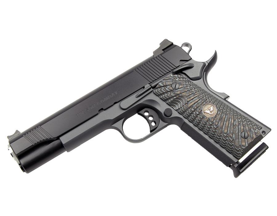 Wilson Combat CQB 9mm, G10 Grips, Black/Gray