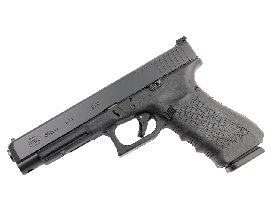 Glock 34 GEN 4 MOS 9mm - Black - U.S. Made