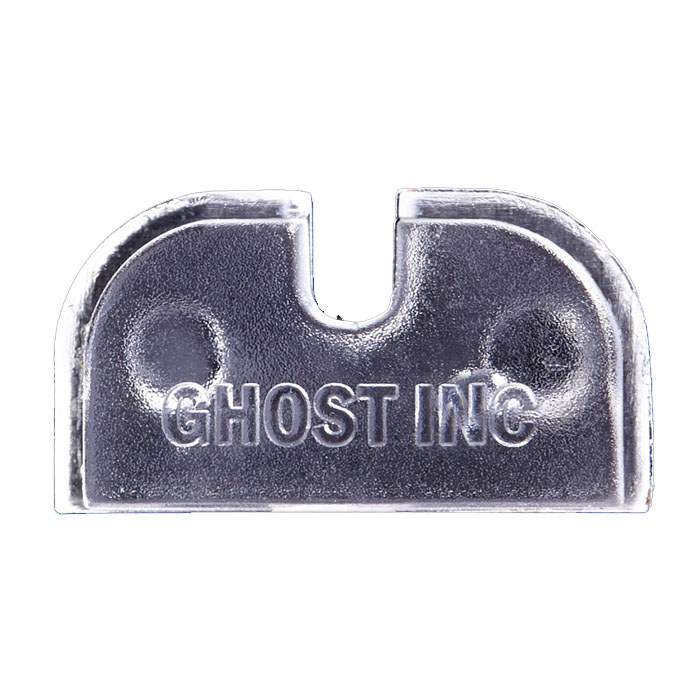 Ghost Clear Armorers Plate - Glock GEN 1-4