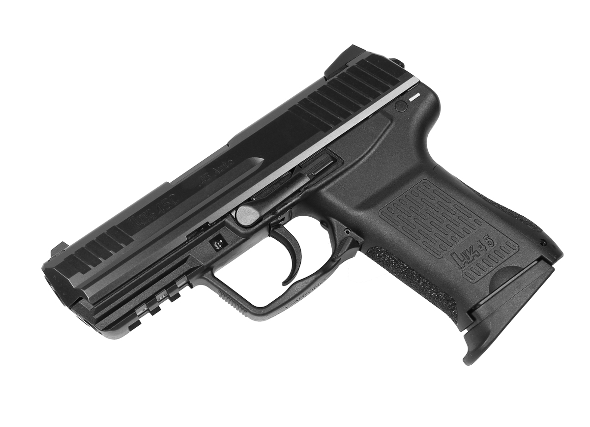 H&K HK45C Compact .45ACP V7 LEM Night Sights