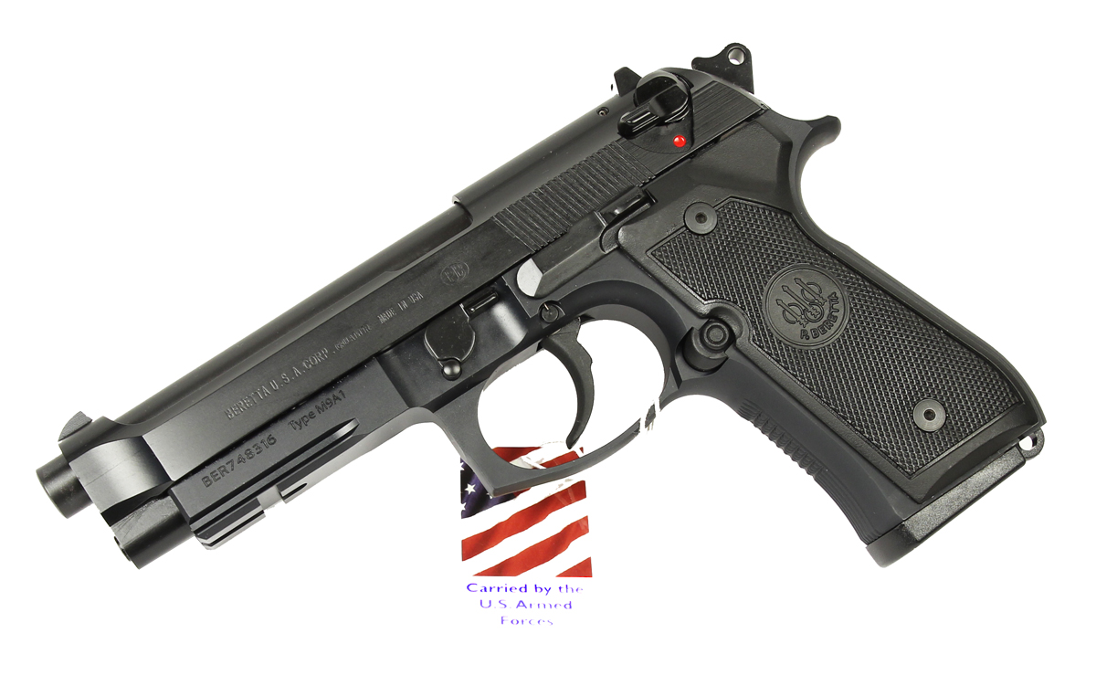 Beretta M9A1, Fixed Sights, 9mm
