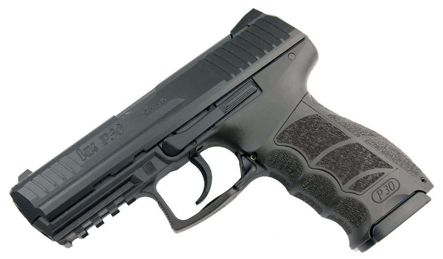 H&K P30 9mm, Light LEM, fixed sights, V1