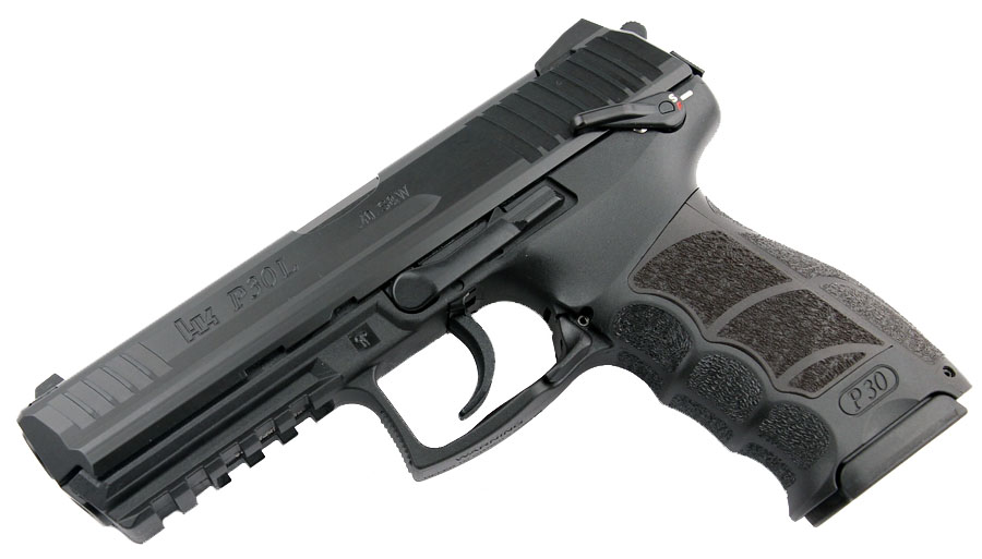 H&K P30LS Long Slide .40S&W, DA/SA, fixed sights, V3