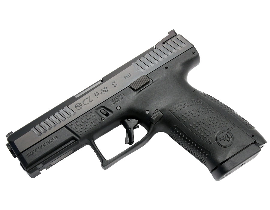 CZ P-10 Compact, Fixed Sights, 9mm